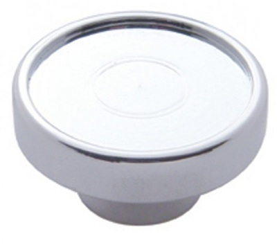 Chrome Dash Knob with or without Sticker