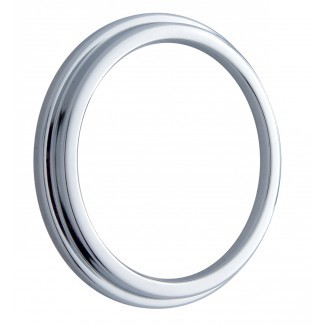 Chrome Gauge Covers-Isspro Pyrometer