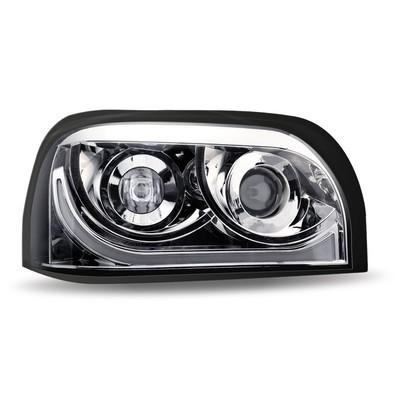 Freightline Century Projector LED Headlights Chrome