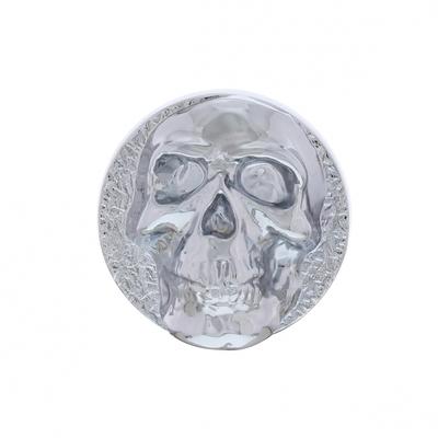 Chrome Skull Dash Knob