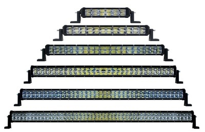 High Power LED 4 Row Light Bar in Different Lengths