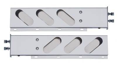 Spring Loaded Light Bar with Oval Cutouts and Different Bolt Pattern