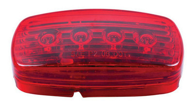 4″x 2″ Marker Light Red (LED )