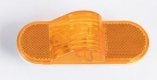 6″ Oval Clearance Marker Light – Amber