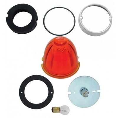 Cab Light Conversion Kit W-Dark Amber Watermelon Glass Lens