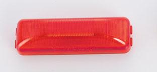 Rectangular Marker Light – Red