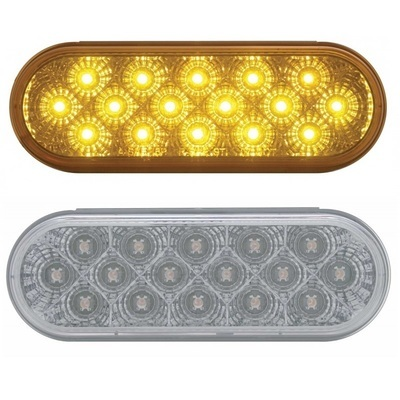 16 LED Reflector Oval Park/Turn/Clearance Marker Light