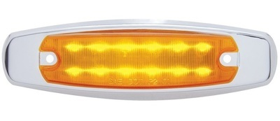 12 LED Peterbilt Style Rectangular Marker Light