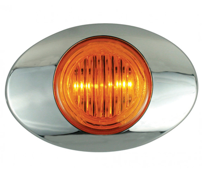 Oval Generation Marker 2 Diodes LED Light in Different Colors