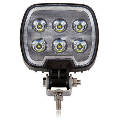 Square 1,200 Lumen 6 LED Work Light