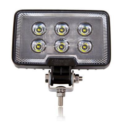 Rectangular 1,200 Lumen 6 LED Work Light