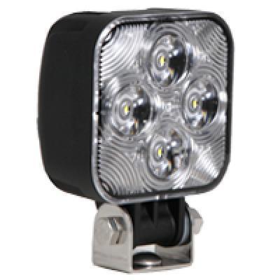 Mini Square 800 Lumen LED Work Light Dual 12/24VDC