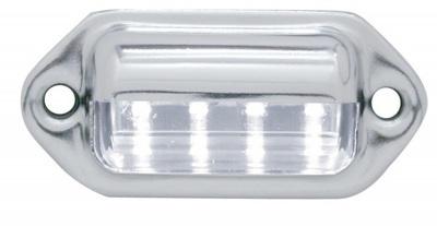 4 Super Bright LED White License Light
