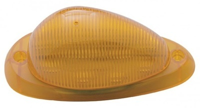 15 LED Sleeper Clearance Marker with Amber or Clear Lens for Freightliner
