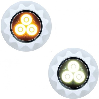 3 High Power LED Mini Warning Light
