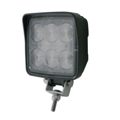 6 High Power 1440 Lumen LED Square Work/Flood Light