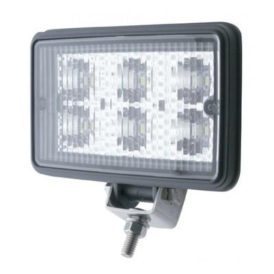 6 High Power 1700 Lumen LED Square Work/Flood Light