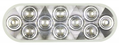 20 LED 6 Inch Oval Back-Up Light - Competition Series