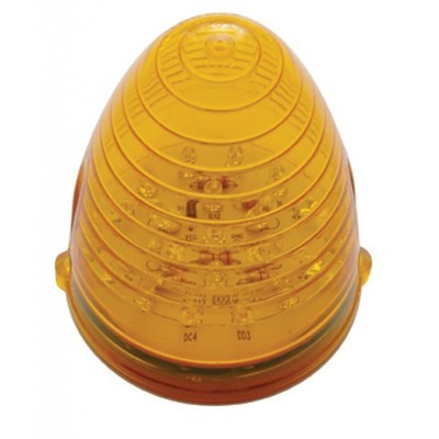 19 LED Beehive Grakon 1000 Cab Light with Amber or Clear Lens