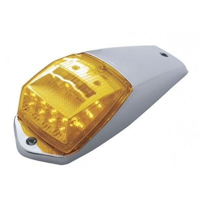 17 LED Reflector Cab Light Kit with Amber or Clear Lens with Housing