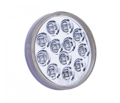4 Inch Mirror Stop, Turn, Back Up & Tail LED in Different Colors