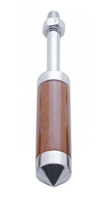 5 Inch Wood Trailer Brake Handle - Pointed