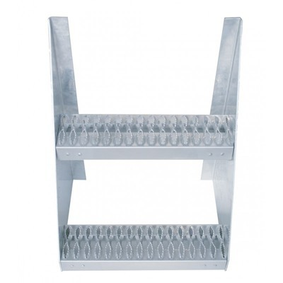 18 Inch Aluminum Frame Step