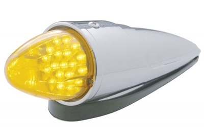 19 LED Reflector Grakon 1000 Cab with Housing in Amber or Clear Lens