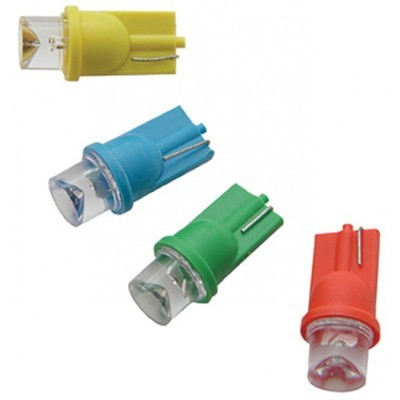 194 LED Wedge Base Light Bulbs Tube Style in Different Colors