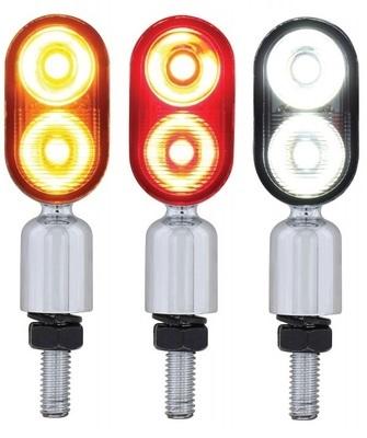 """2 High Power LED """"Hyper Mini"""" Pedestal Light"""