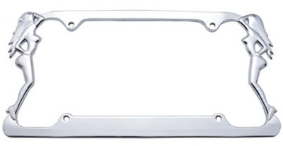 Nude Lady License Plate Frame