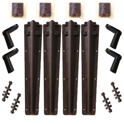 Plastic Bolt-on Brackets for Minimizer 100, 150, 1600, 2260, 2218, 2480 and 9950 Fender Series