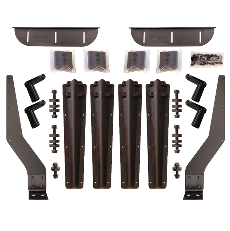 Plastic Bolt-on Brackets for Minimizer 4000, 1500 and 900 Fender Series