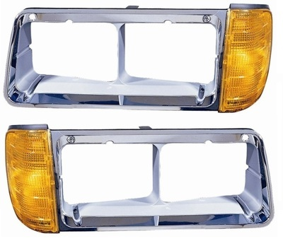 Headlight Bezel with Turn Signal for 1989-2002 Freightliner FLD