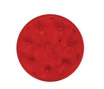 4'' Economy Clear and Red Stop, Turn & Tail LED