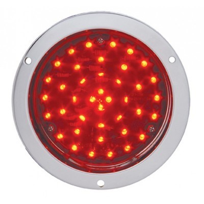 40 LED Deep Dish 4 Inch Stop, Turn & Tail in Red or Clear