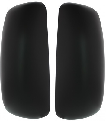 Peterbilt 385, 387, 587 & Kenworth T2000, T700 Black Mirror Cover - Passenger/Driver Side