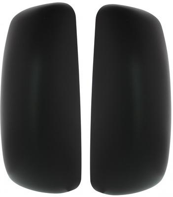 Black Mirror Cover - Passenger/Driver Side for Peterbilt 385, 387, 587 & Kenworth T2000, T700