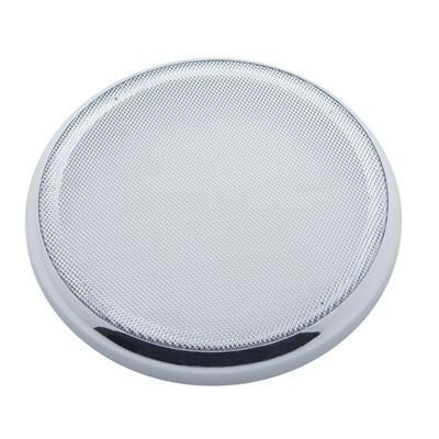 Chrome Plastic Speaker Cover for Peterbilt