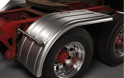 Tandem Axle Set Half Fender in Different Colors