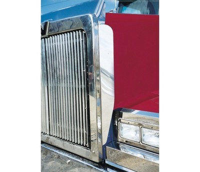 Side Hood Grill Deflector for Western Star