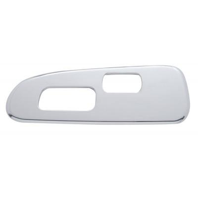 Driver Side Window Switch Trim 2 Holes for Peterbilt 2006+