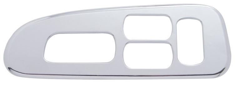 Driver Side Window Switch Trim 4 Holes for Peterbilt 2006+