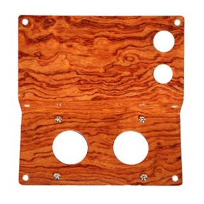 Genuine Rosewood Replacement Control Panel for Peterbilt 379