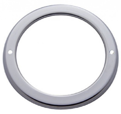 2 1/2 Inch Stainless Steel Light Bezel - Narrow