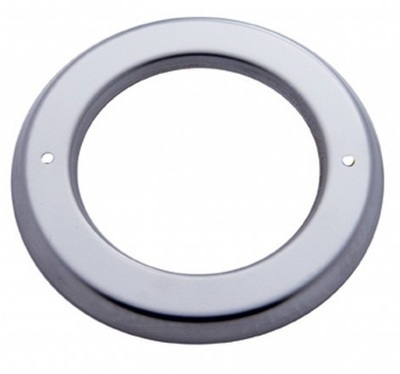 2 1/2 Inch Stainless Steel Light Bezel - Wide