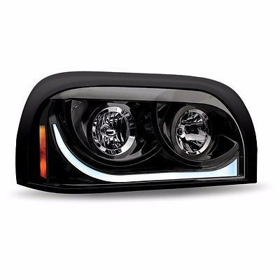 Blackout Headlight Assembly for Freightliner Century