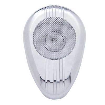 Chrome Road King 56 CB Microphone Plain Cover w/o Visor