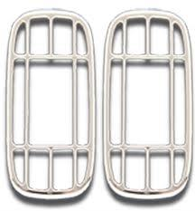 Window Defroster Vent Covers - Chrome for Peterbilt