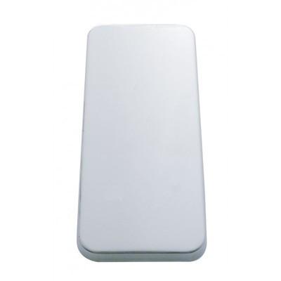 Peterbilt 359, 377, 379 Stainless Steel Vent Door Cover - Plain